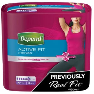 Depend Active-Fit Underwear for Women