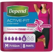 Depend active fit for Reflex Incontinence