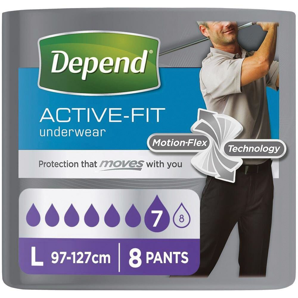 depend active fit for men